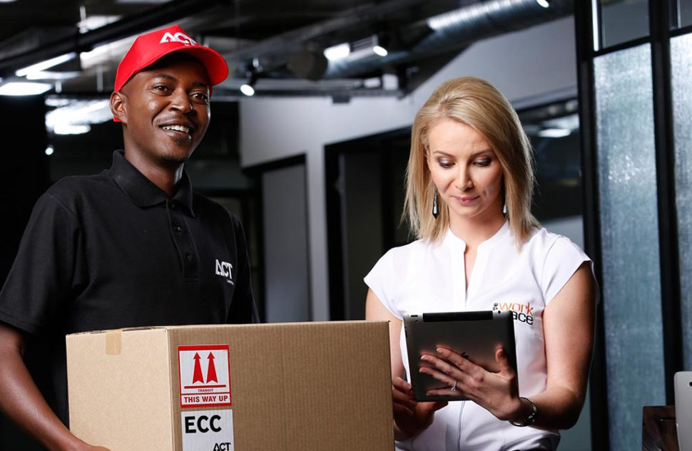 ACT Logistics business courier